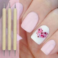 Nail brush pen nail tools crea diem 5pcs nail art tip dotting pen set manicure painting kit design 2 way prinsesfo Image collections