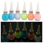 6 Colors Noctilucent Fluorescent Nail Polish Nail Art
