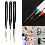 6Pcs Nail Art Drawing Liner Brush Painting Pen Set Nail Art
