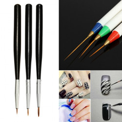 6Pcs Nail Art Drawing Liner Brush Painting Pen Set