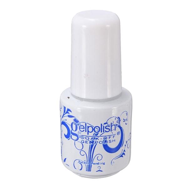 6ml Nail Polish Soak Off UV Gel Topcoat Top Coat Seal Glue Nail Art