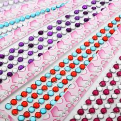 7 Colors Round Shape Rhinestone Nail Art Cell Phone Decoration