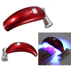 7W 100-240V Banana Shape Nail Art UV Gel LED Dryer Curing Lamp