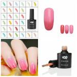 8ml Temperature Change Color Nail Art Soak Off UV Gel Nail Art