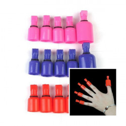 Acrylic UV Gel Polish Remover Soak Wearable Nail Soakers Nail Tools