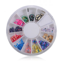 Butterfly Nail Art Tips Wheel
