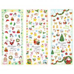 Christmas Design Water Transfer Decals Nail Art Sticker