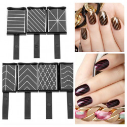 DIY 3D Nail Art Magnet Magnetic Stick Board Magic Polish