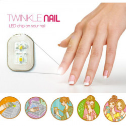 Fantastic NFC Nail Sticker Flash LED Magic Decal Party Club