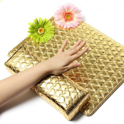 Gold Washable Nail Art Hand Holder Cushion Pillow Manicure Tool