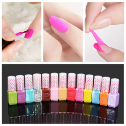 Healthy Water-based Non-Toxic Peel-off Nail Polish Enamel