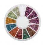 Mini Manicure Caviar Nails Art Tips Metal Micro Ball Beads Disc Nail Art