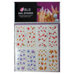 Multi-color Nail Art Tips Tattoos Water Transfer Decals Sticker Nail Art