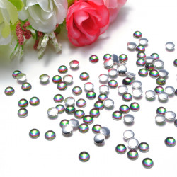 Multicolor Round Glitter Rhinestones Nail Art Decorations