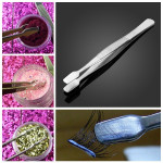 Multifunctional Clip Nail Art Flocking Powder Tweezers Nail Art