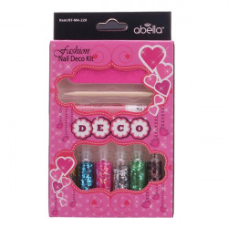 Nail Art Decoration Kit Set Colorful Power Color Random