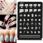 Nail Art Image Printing Plate Polish Stamping Template DIY Tips Design Nail Art