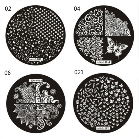 Nail Art Image Stamp Plates Polish Stamping Template DIY 2021