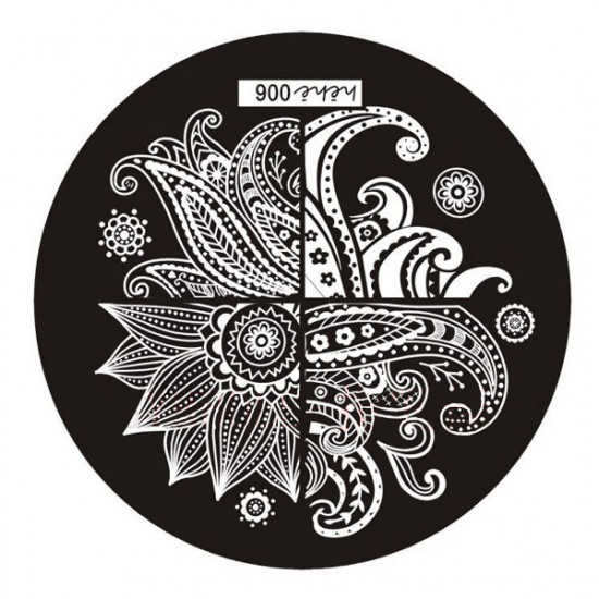 Nail Art Image Stamp Plates Polish Stamping Template DIY