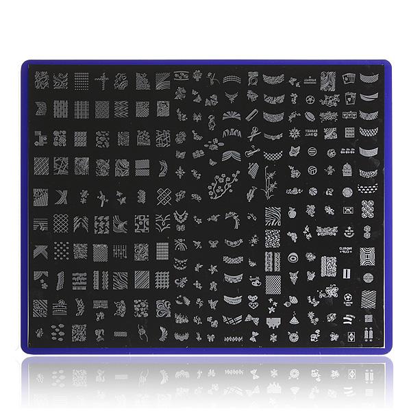 Nail Art Image Stamp Plates Polish Stamping Template Stencil DIY Nail Art