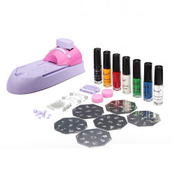 Nail Art Printer Acrylic UV DIY Printing Machine Stamping Set