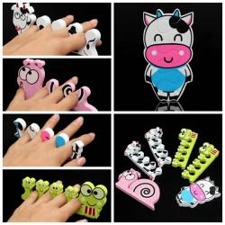 Nail Art Soft Sponge Foam Finger Toe Separators Pedicure Manicure