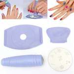 Nail Art Tools Stamper Scraper Decals DIY Kit Set Decoration Plate Nail Art