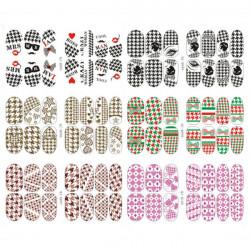 Noctilucent Luminous Nail Foil Sticker Nail Art Decal