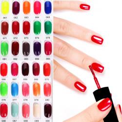OUJINGJIA 061-090 Shimmer&Pure Colors Soak Off UV Gel Nail Polish