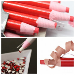 Peel-off Wax Rhinestone Picker Pick Up Pencil Nail Art Tool