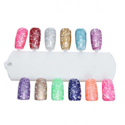 Phototherapy Snowflake Barbie Nail Art Soak Off Gel Polish