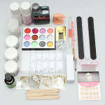 Pro Nail Art Design Kit Acrylic Primer Powder Manicure Set Nail Art