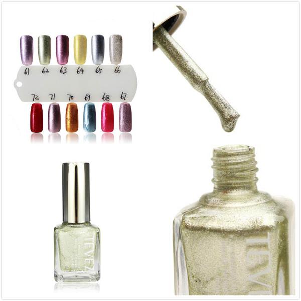 TEVEZ 61-72 Colors Nail Art Polish Nail Lacquer 15ML Nail Art