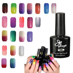 Temperature Change Color Nail Art Soak Off UV Gel Polish