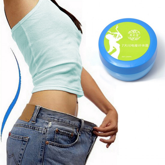 100ml Green Weight Loss Fat Burn Body Waist Face Leg Slimming Cream 2021