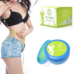 100ml Green Weight Loss Fat Burn Body Waist Face Leg Slimming Cream
