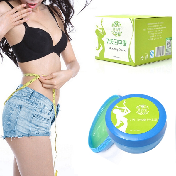 100ml Green Weight Loss Fat Burn Body Waist Face Leg Slimming Cream Personal Care