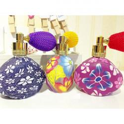 10ML Polymer Clay Triangle Perfume Gasbag Spray Bottle