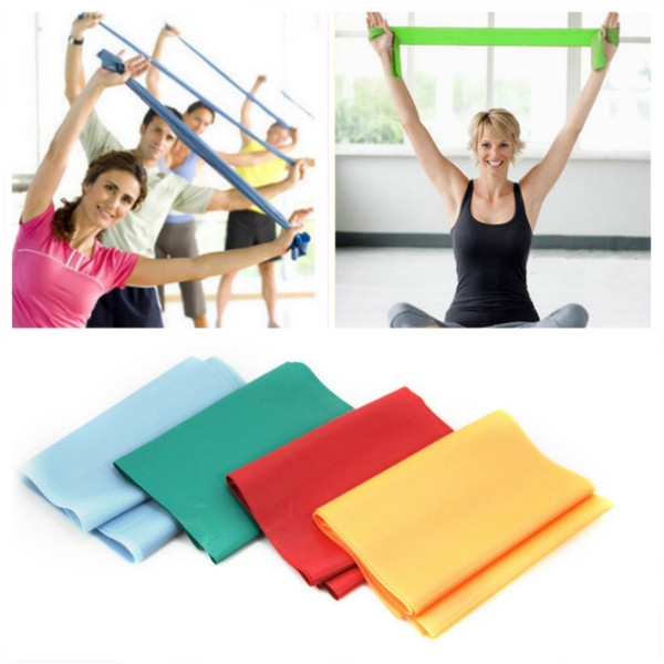 1.2M Yoga Elastic Stretch Belt Resistance Band Personal Care
