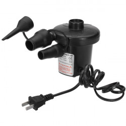 220V 3 Nozzles Electric Air Pump Inflator Deflate