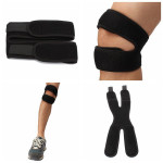 2PCS Adjustable Knee Patella Tendon Support Brace Strap Guard Personal Care