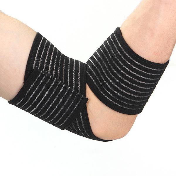 2Pcs Elastic Brace Protection Elbow Sport Compression Bandage Personal Care