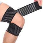 2Pcs Elastic Brace Protection Knee Sport Compression Bandage Personal Care