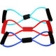 5Pcs Yoga 8 Type Resistance Band Tube Body Building Fitness Tool 2021