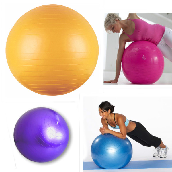 65cm 26 Inch Yoga Exercise Ball Balance Pilates Gym Personal Care