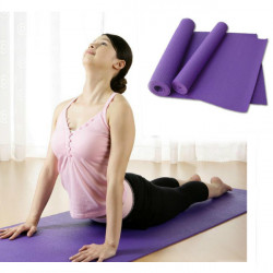 6MM PVC Yoga Mat Moistureproof Blanket 3 Colors