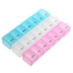 7 Days Weekly Pill Box Medicine Dispenser Organizer Storage