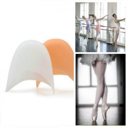 A Pair Of Professional Ballet Shoes Silicone Gel Toe Caps