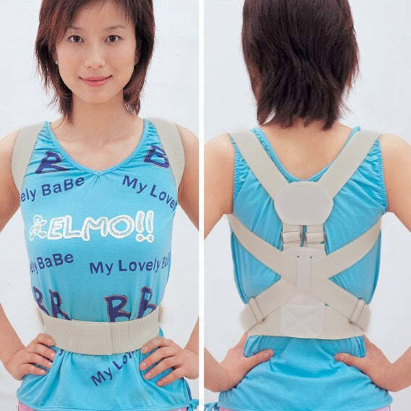 Adult Humpback Kyphosis Back Shoulder Corrector Posture Support Belt Personal Care
