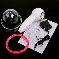 Anti-Cellulite Breast Enlargement Vacuum Body Massager Device Therapy